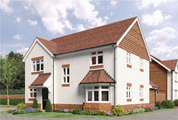 4 Bedrooms Detached House for sale in 4 Campbell Close, Reigate Road, Hookwood, HORLEY, Surrey, RH6 0AS