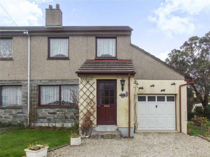 3 Bedrooms Semi Detached House for sale in Trevelthan Road, Illogan, Redruth