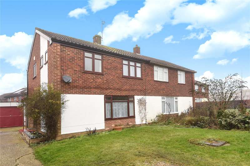 3 Bedrooms Semi Detached House for sale in Margaret Close, Reading, Berkshire, RG2