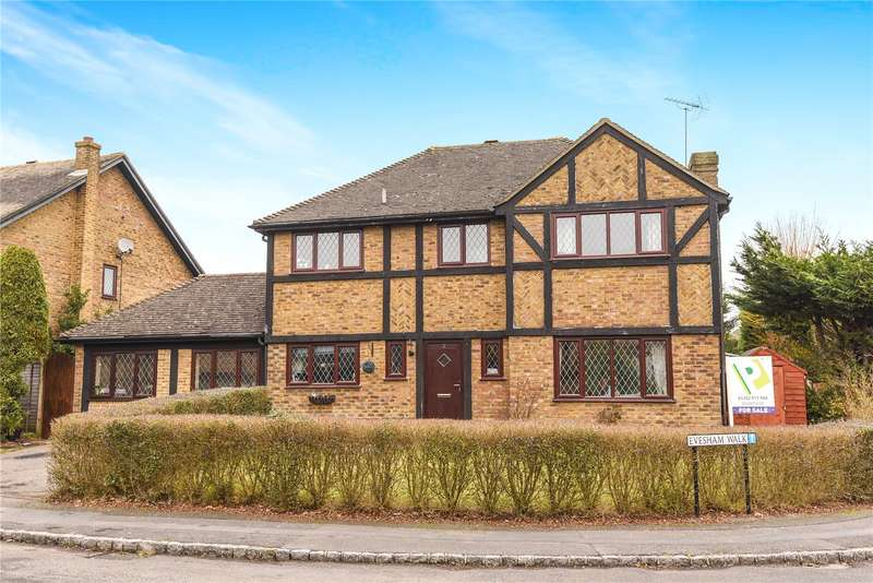 4 Bedrooms Detached House for sale in Evesham Walk, Owlsmoor, Sandhurst, Berkshire, GU47