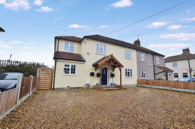 4 Bedrooms Semi Detached House for sale in Fobbing Road, Old Corringham
