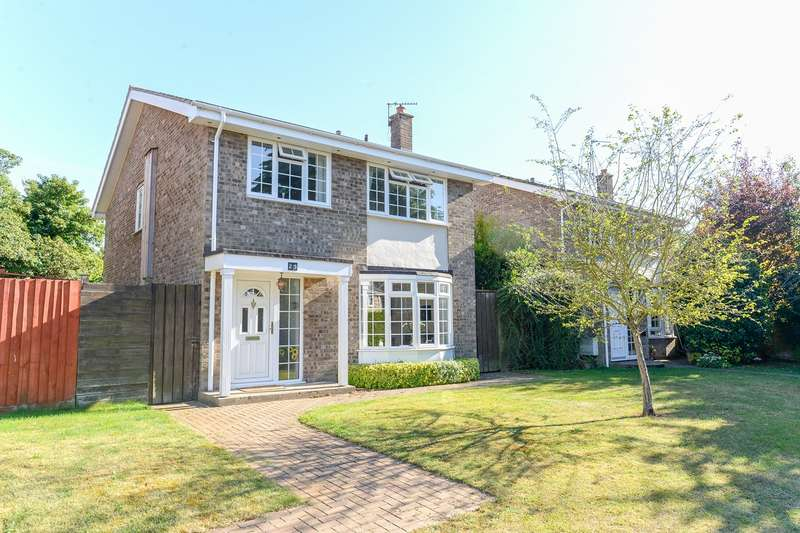 4 Bedrooms Detached House for sale in The Lawns, Melbourn, Melbourn, SG8