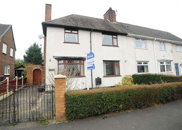 3 Bedrooms Semi Detached House for sale in 59 Baines Avenue, Irlam M44 6AW