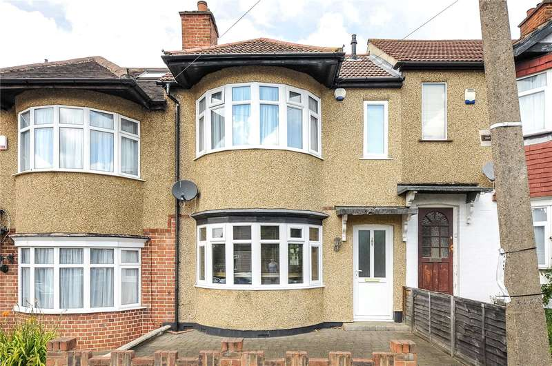 2 Bedrooms Terraced House for sale in Linden Avenue, Ruislip Manor, Middlesex, HA4