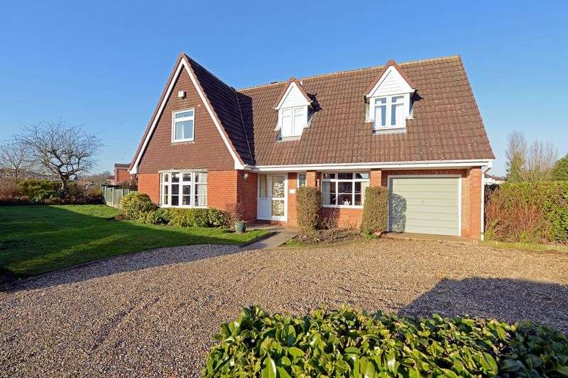 4 Bedrooms Detached House for sale in Wheatfield Drive, Shifnal, Shropshire.