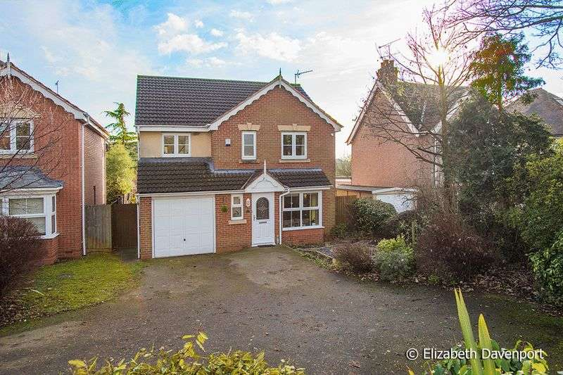 4 Bedrooms Detached House for sale in William Kirby Close, Coventry