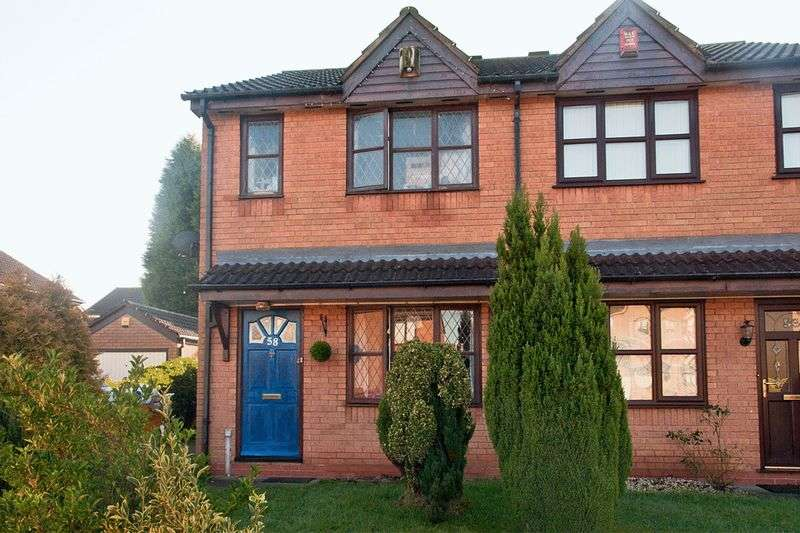 2 Bedrooms Semi Detached House for sale in Blithfield Road, Brownhills West