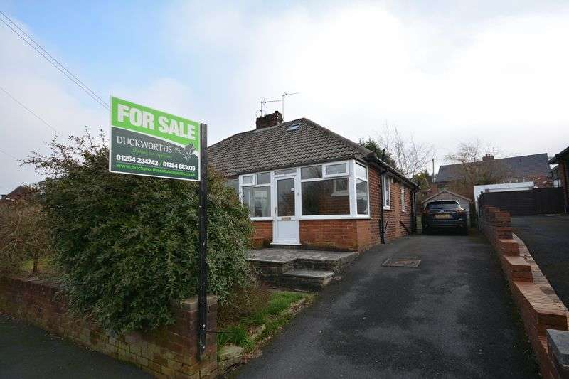 2 Bedrooms Semi Detached Bungalow for sale in Edinburgh Drive, Oswaldtwistle