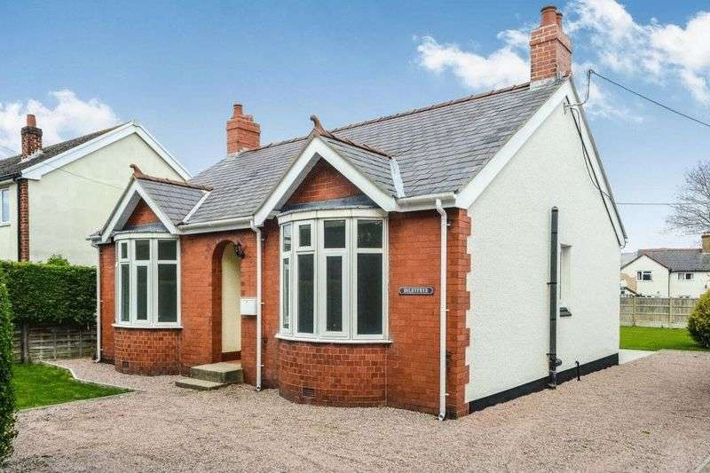 3 Bedrooms Detached Bungalow for sale in Maes Dolwen, Ruthin