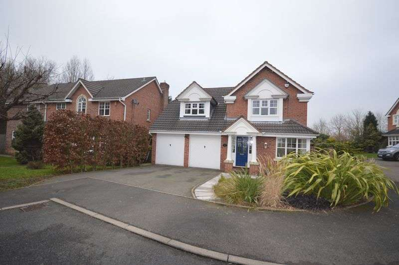 4 Bedrooms Detached House for sale in Checkley Lane, St Georges, Telford