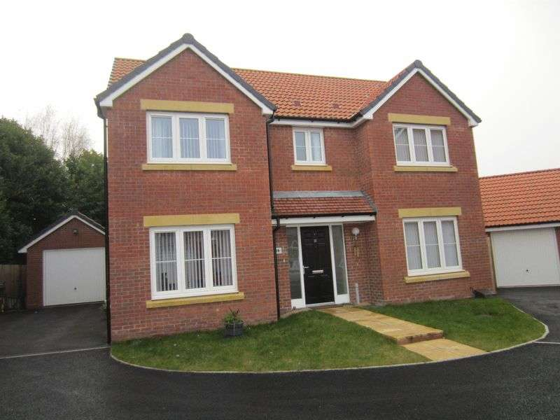 4 Bedrooms Detached House for sale in Harlech Road St Lythans Park Cardiff CF5 6XN