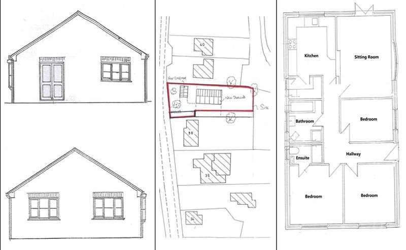3 Bedrooms Detached Bungalow for sale in Elmhirst Road, Horncastle