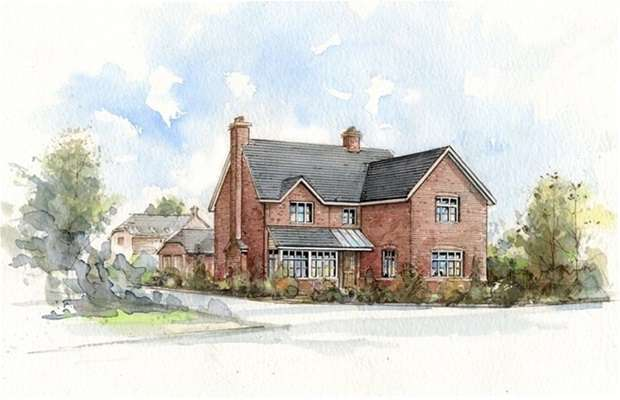 4 Bedrooms Detached House for sale in The Halve, Warminster