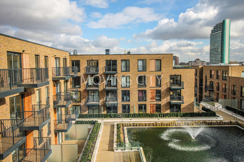 1 Bedroom Flat for sale in Mariners Place, Marine Wharf, Surrey Quays