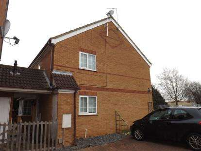 2 Bedrooms Terraced House for sale in Grosvenor Gardens, Biggleswade, Bedfordshire