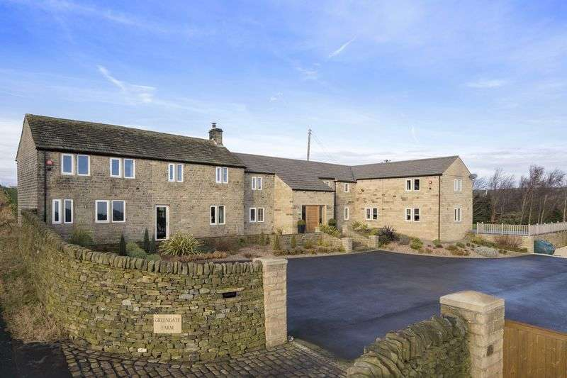 6 Bedrooms Property for sale in Greengate Farm, Horn Lane, Ingbirchworth