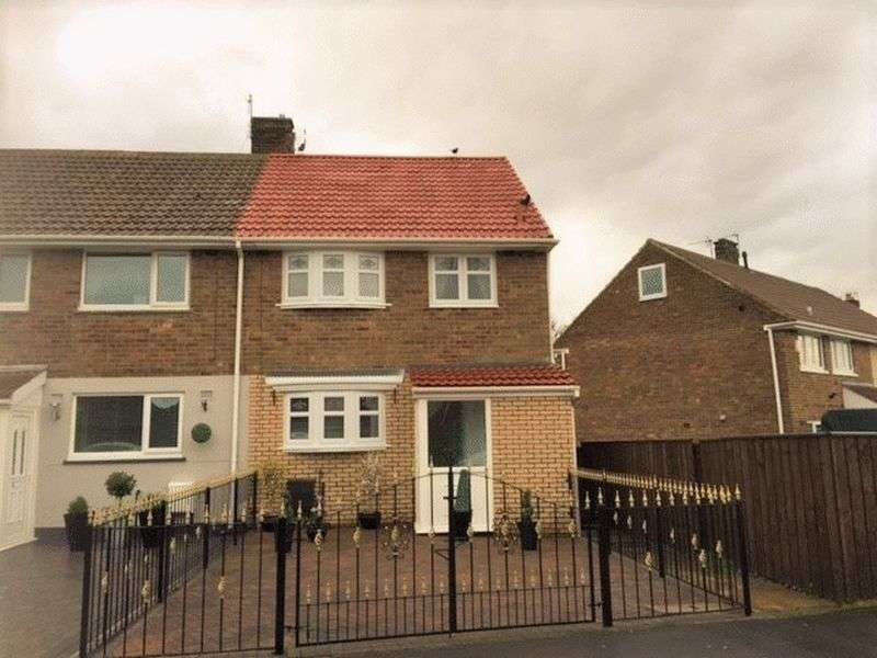 2 Bedrooms Semi Detached House for sale in Granville Road, Peterlee