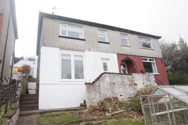 3 Bedrooms Semi Detached House for sale in Markham, Blackwood, Caerphilly