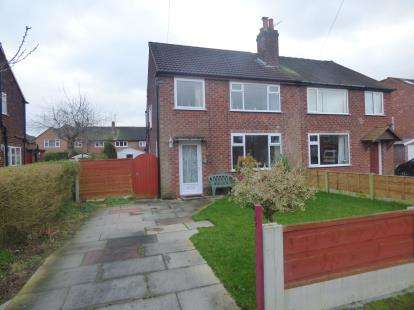 3 Bedrooms Semi Detached House for sale in Lydgate Road, Sale, Trafford, Greater Manchester