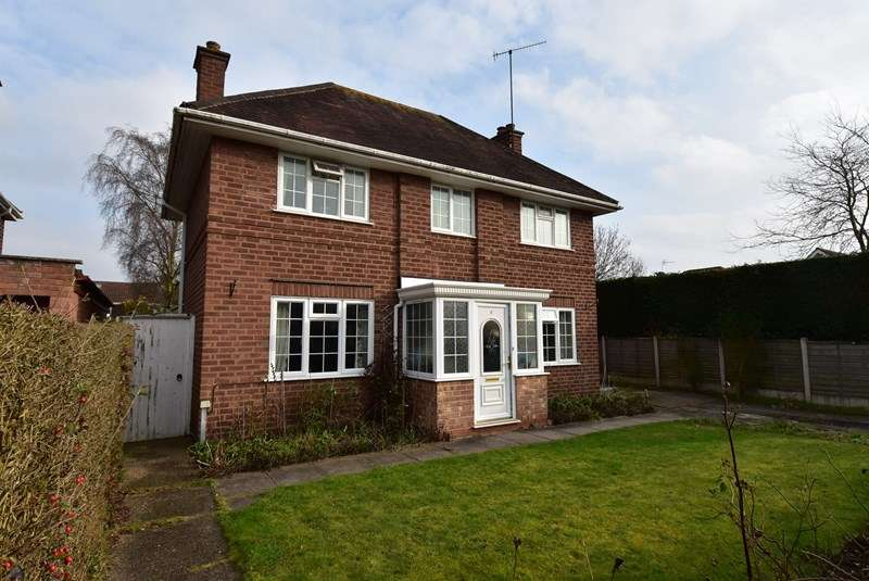 3 Bedrooms Detached House for sale in Hanbury Avenue, Worcester
