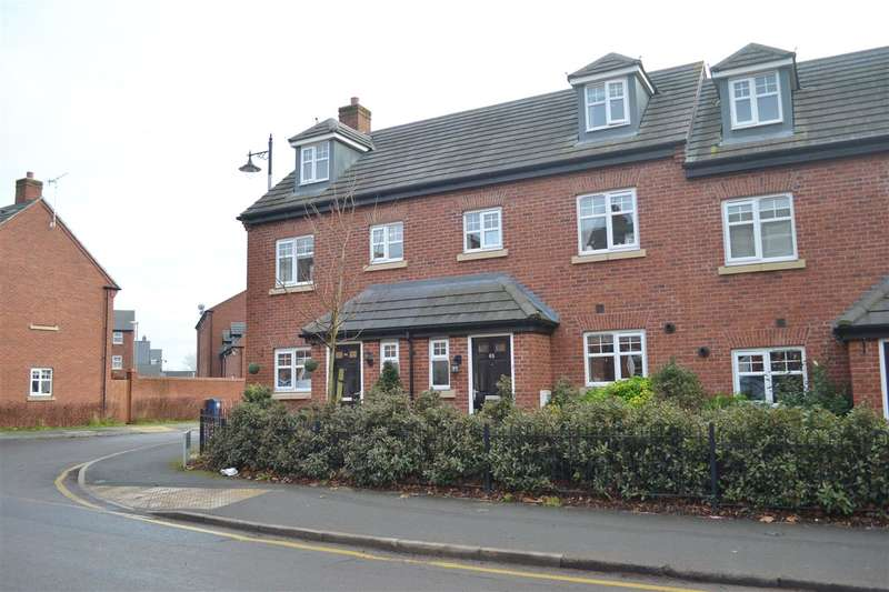3 Bedrooms Town House for sale in Crooked Bridge Road, Stafford