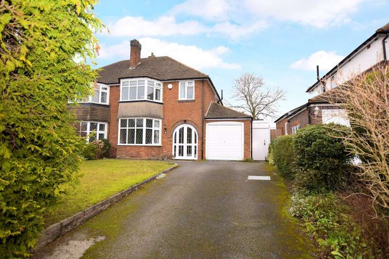 3 Bedrooms Semi Detached House for sale in Stonor Park Road, Solihull
