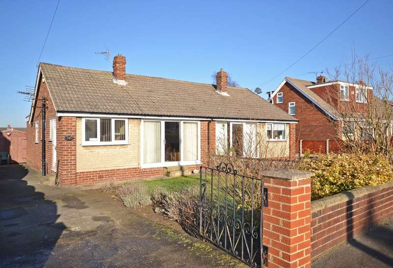 3 Bedrooms Semi Detached Bungalow for sale in Charles Street, Ryhill, Wakefield