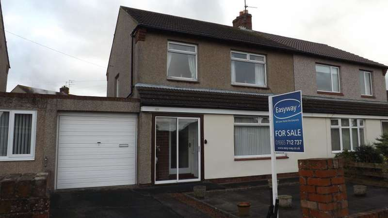 3 Bedrooms Semi Detached House for sale in Castle View, Amble, Morpeth, Northumberland, NE65 0NN