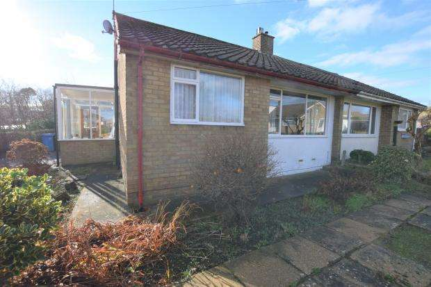 2 Bedrooms Semi Detached Bungalow for sale in Moor Lane, Newby, Scarborough, North Yorkshire YO12 5SP