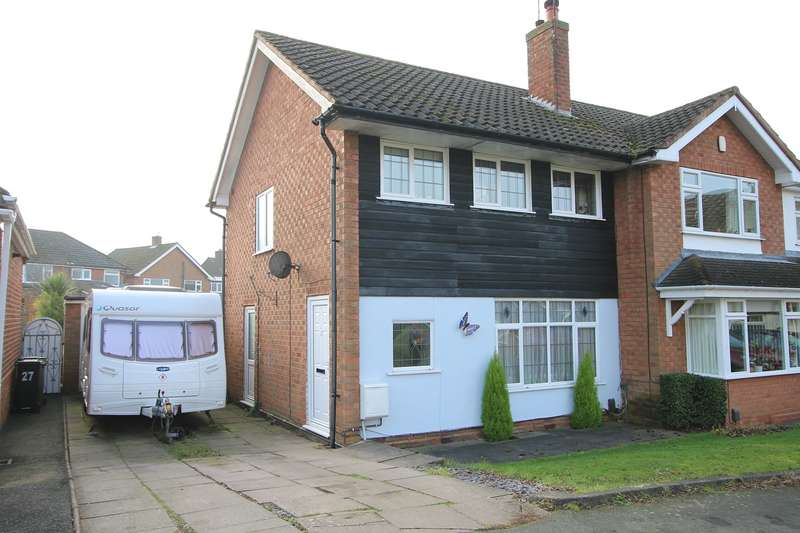 3 Bedrooms Semi Detached House for sale in Lightwoods Road, Pedmore, Stourbridge, DY9