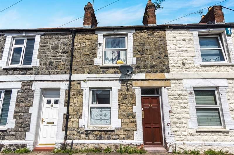 2 Bedrooms Terraced House for sale in Sanquahar Street, Cardiff