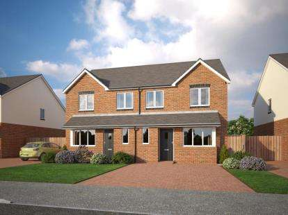 3 Bedrooms Semi Detached House for sale in Holmleigh Close, Cheshire Lane, Buckley, Clwyd, CH7