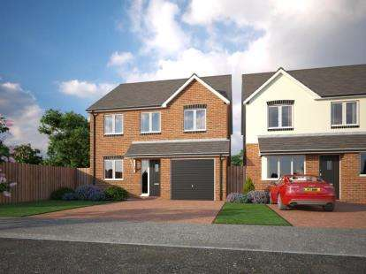 4 Bedrooms Detached House for sale in Holmleigh Close, Cheshire Lane, Buckley, Clwyd, CH7