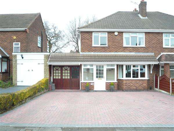 3 Bedrooms Semi Detached House for sale in Long Mill North, Wednesfield, Wednesfield