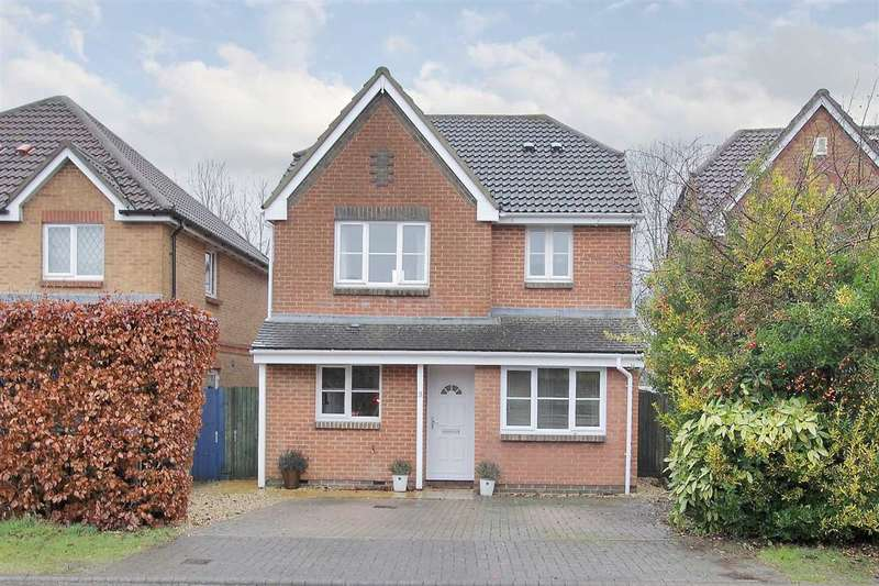 4 Bedrooms Detached House for sale in Foxtail Gardens, Ludgershall