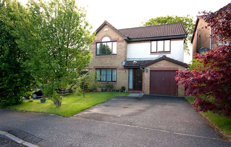 4 Bedrooms Detached House for sale in Glen Rosa Gardens, Craigmarloch, Cumbernauld