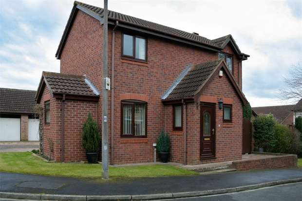 3 Bedrooms Detached House for sale in Danesmead Close, Fulford, YORK