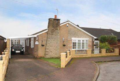 3 Bedrooms Bungalow for sale in Green Lea, Dronfield Woodhouse, Dronfield, Derbyshire