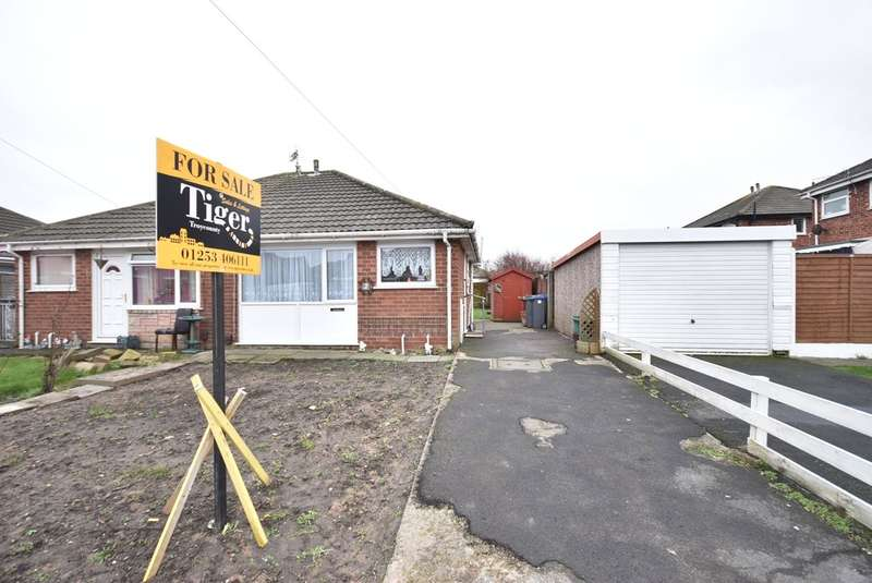 2 Bedrooms Semi Detached Bungalow for sale in Braith Close, Blackpool