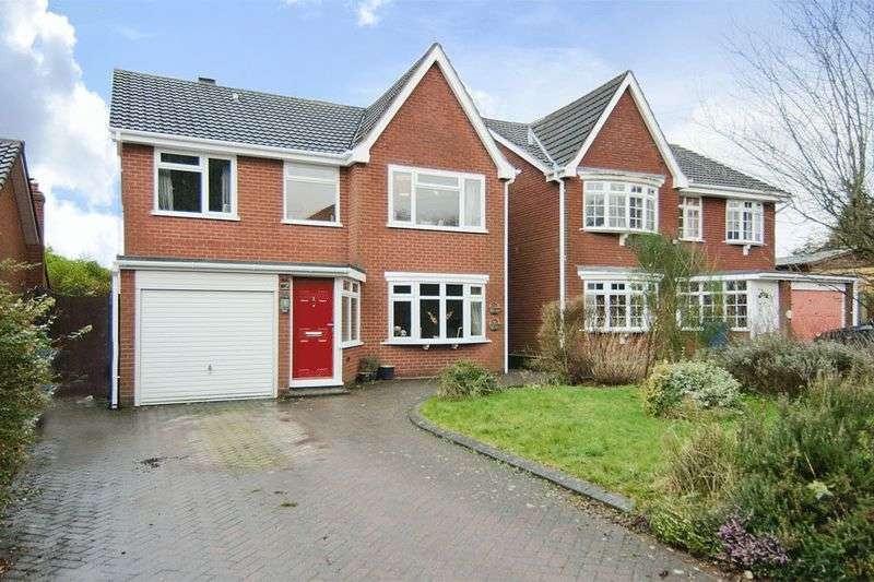 4 Bedrooms Detached House for sale in Highfields, Burntwood