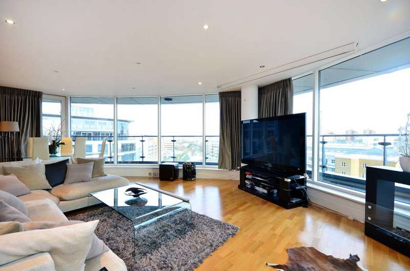 3 Bedrooms Flat for sale in Chelsea Vista, Imperial Wharf, SW6