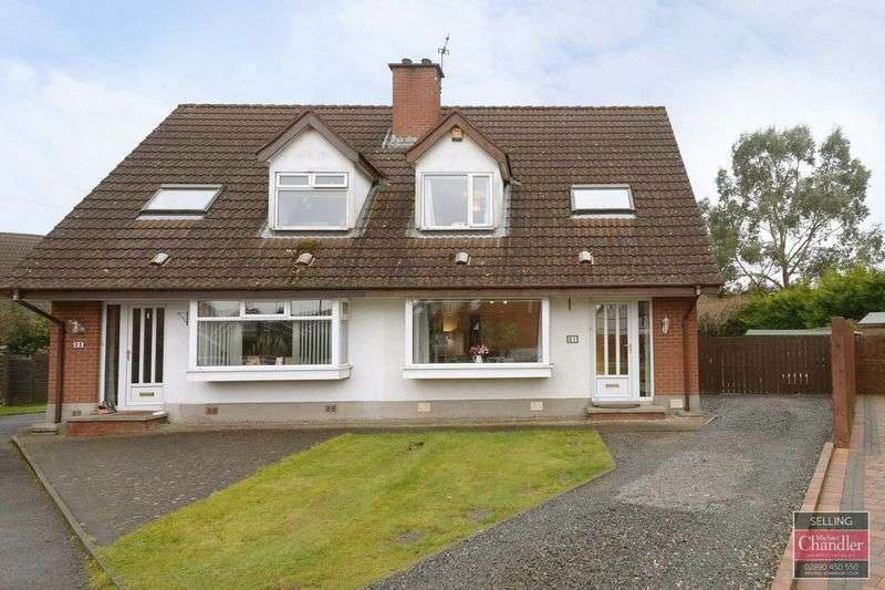 3 Bedrooms Semi Detached House for sale in 21 Finsbury Drive, Belfast, BT8 6GY