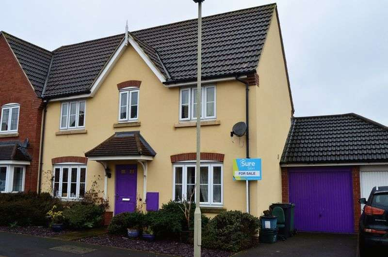3 Bedrooms Semi Detached House for sale in Halton Way, Gloucester