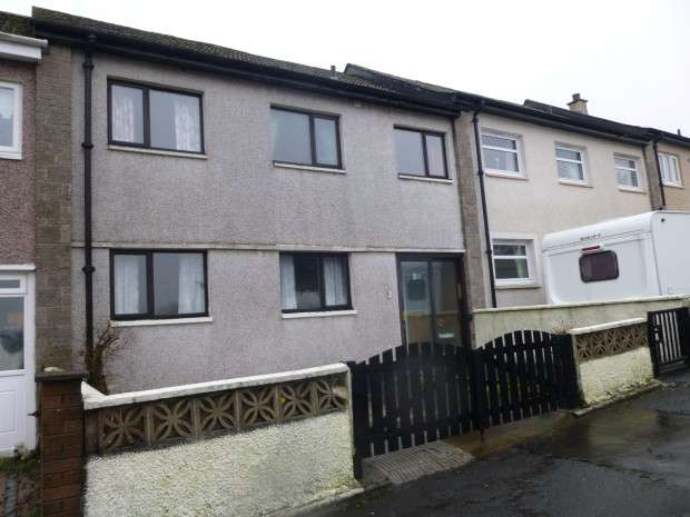 3 Bedrooms Terraced House for sale in Dervaig Gardens, Upperton, Airdrie, ML6