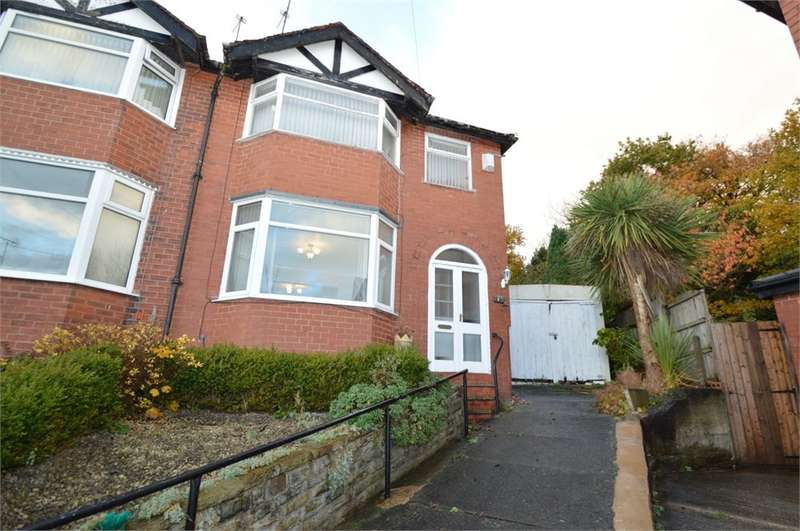 3 Bedrooms Semi Detached House for sale in Vernon Drive, Prestwich, MANCHESTER, M25