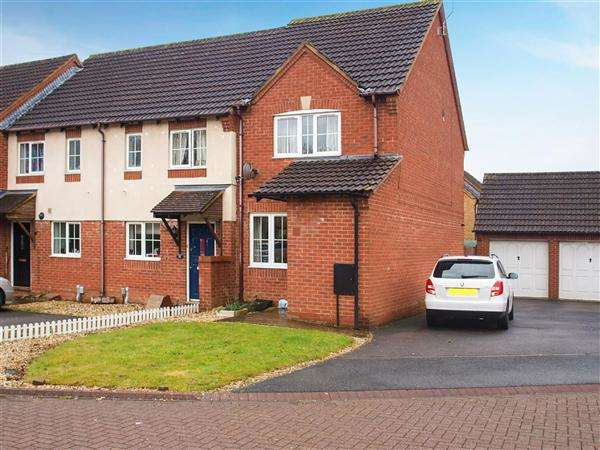 2 Bedrooms End Of Terrace House for sale in Dales Close, Blunsdon St Andrew, Swindon