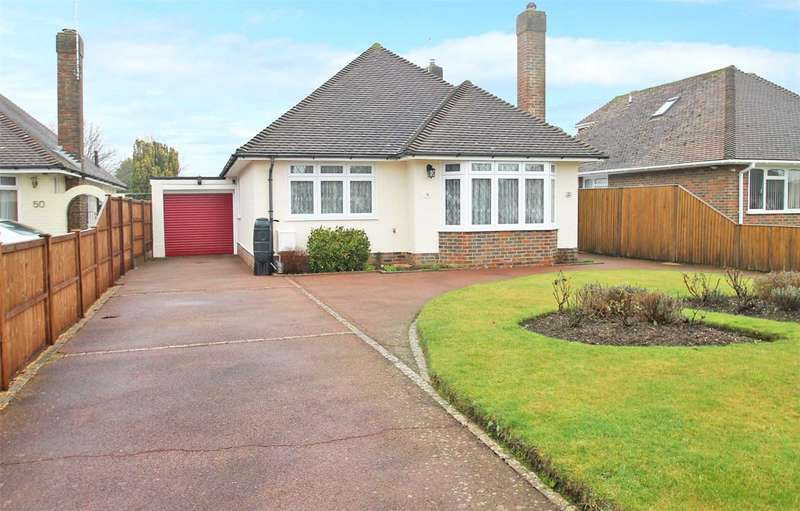 3 Bedrooms Detached Bungalow for sale in The Roystons, East Preston, West Sussex, BN16