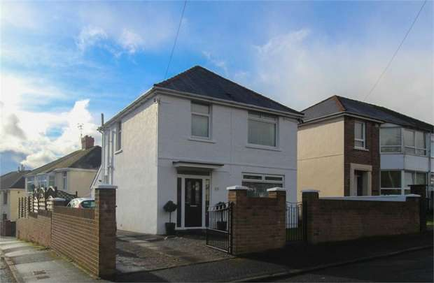 3 Bedrooms Detached House for sale in School Road, Old Rassau, EBBW VALE, Blaenau Gwent