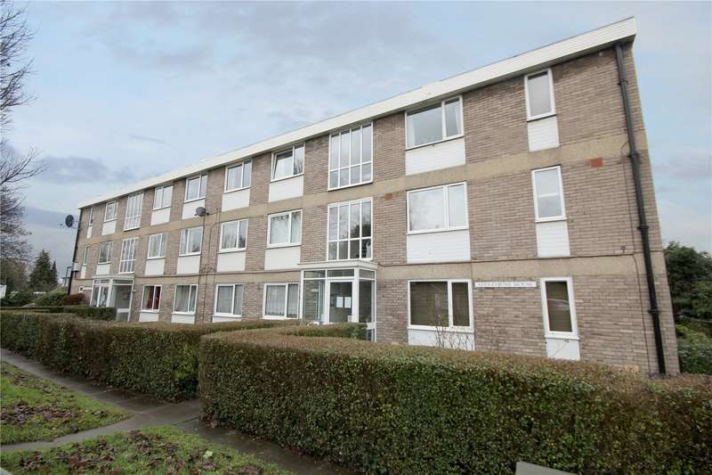2 Bedrooms Apartment Flat for sale in Addlestone House, Chertsey Road, Addlestone, Surrey, KT15