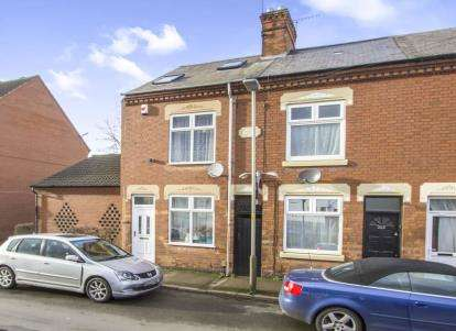 3 Bedrooms End Of Terrace House for sale in Beaumanor Road, Leicester